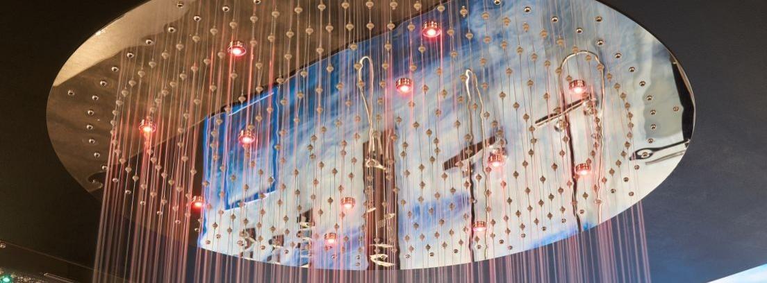 Duchas LED para un consumo de agua más consciente