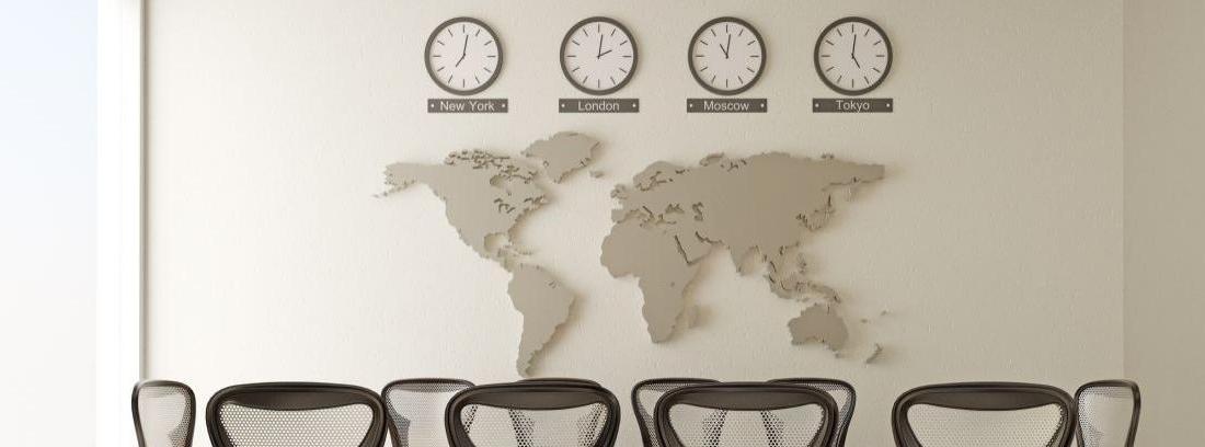 El reloj de pared