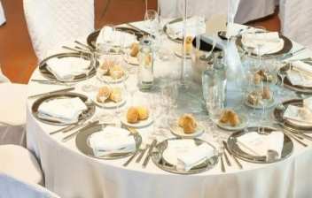 Una mesa formal