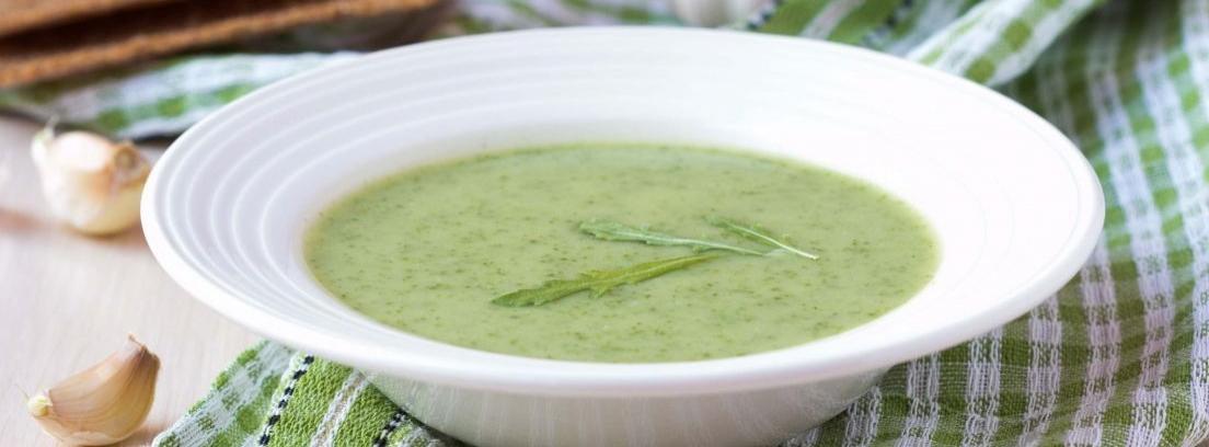 Gazpacho verde, el plato de moda de la temporada
