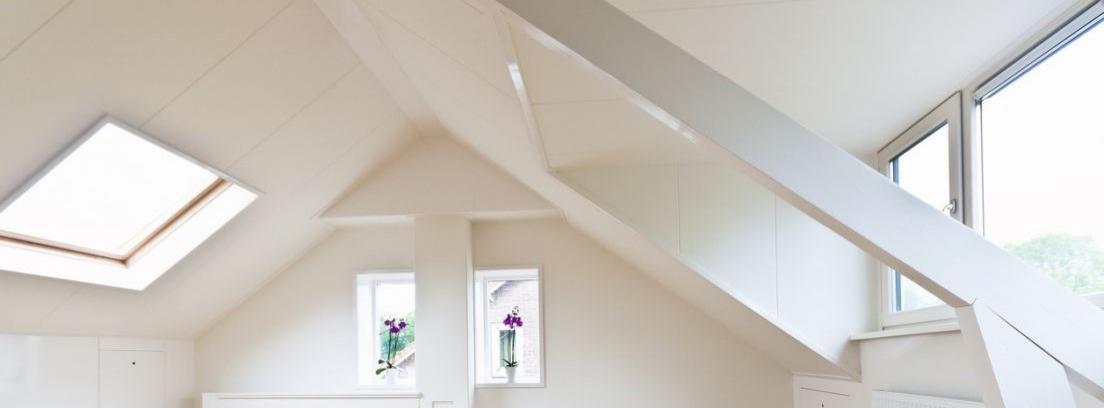 Hacer un altillo para aprovechar los techos altos