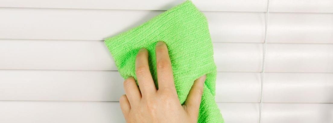 Cómo limpiar las persianas correctamente