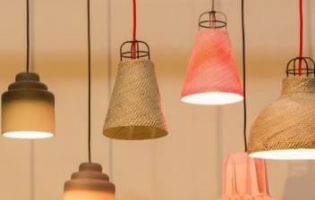 Lámparas de mimbre para una decoración rústica