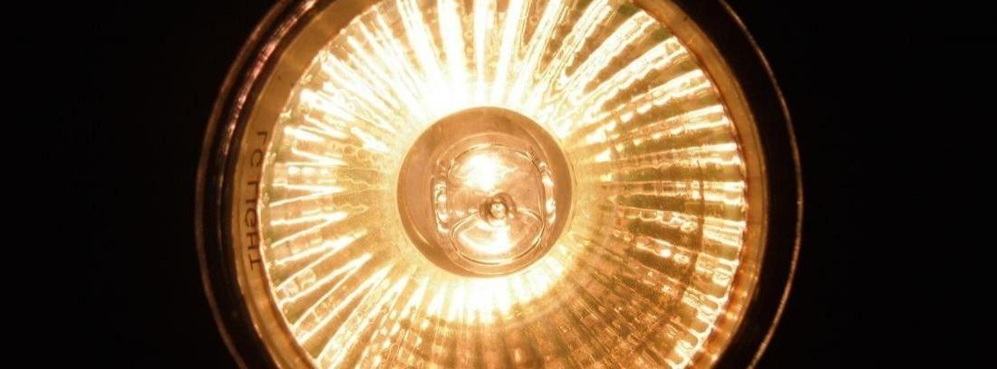 lámpara halógena