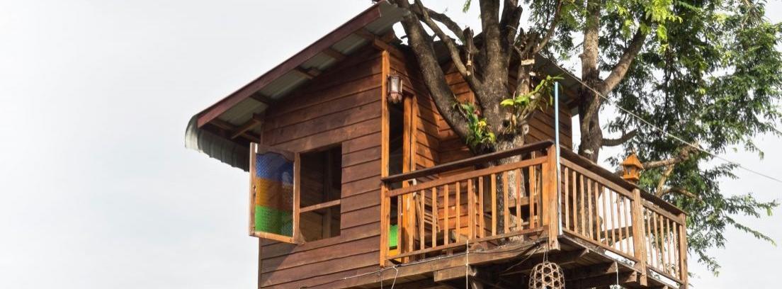 Vista exterior de la Cabaña Suite Oooh!.