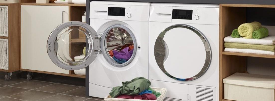 Carga frontal o carga superior en la lavadora
