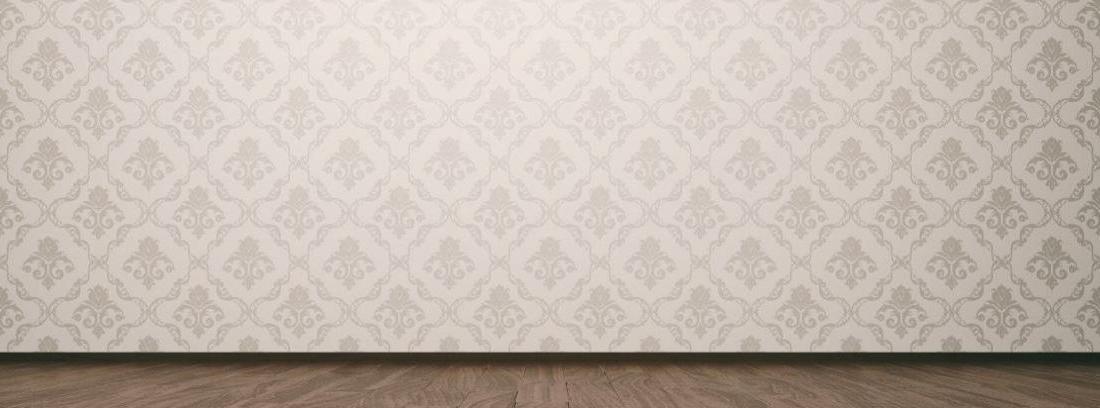 Limpiar paredes empapeladas