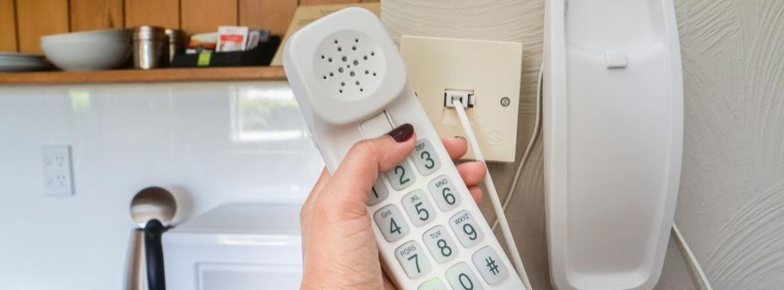 Cambiar toma de teléfono