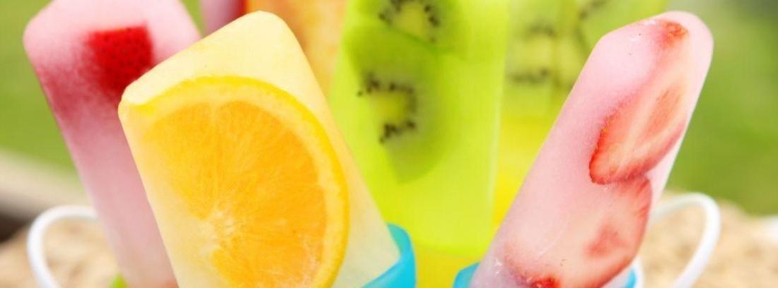 helados de fruta