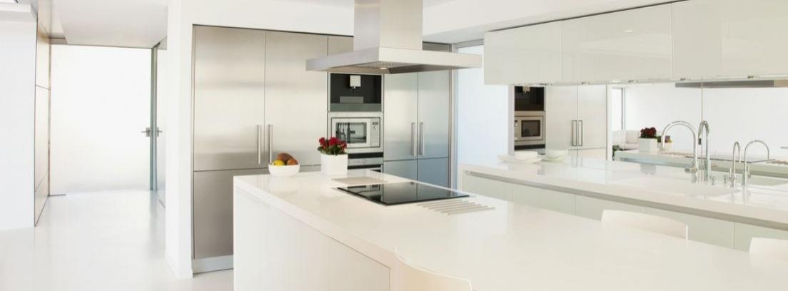 Cómo cuidar las encimeras de cocina según el material