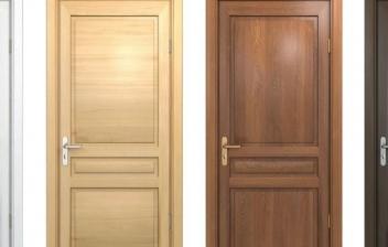 Cómo limpiar puertas de madera