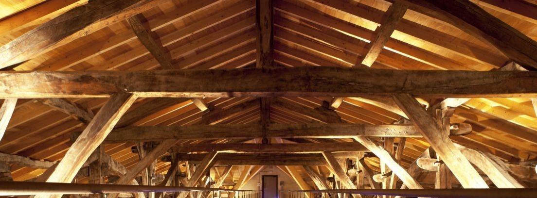 Mantenimiento de las vigas de madera