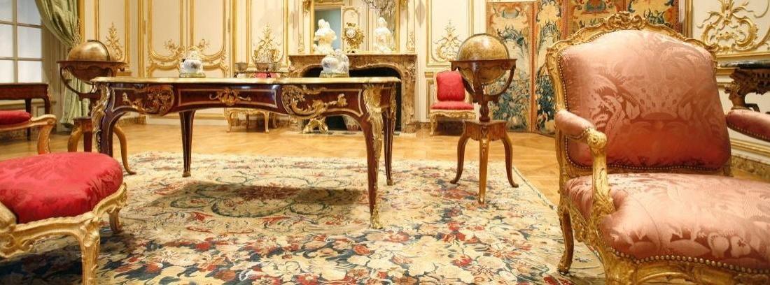 Decorar con muebles barrocos