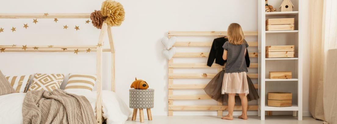 Muebles infantiles para ordenar la casa