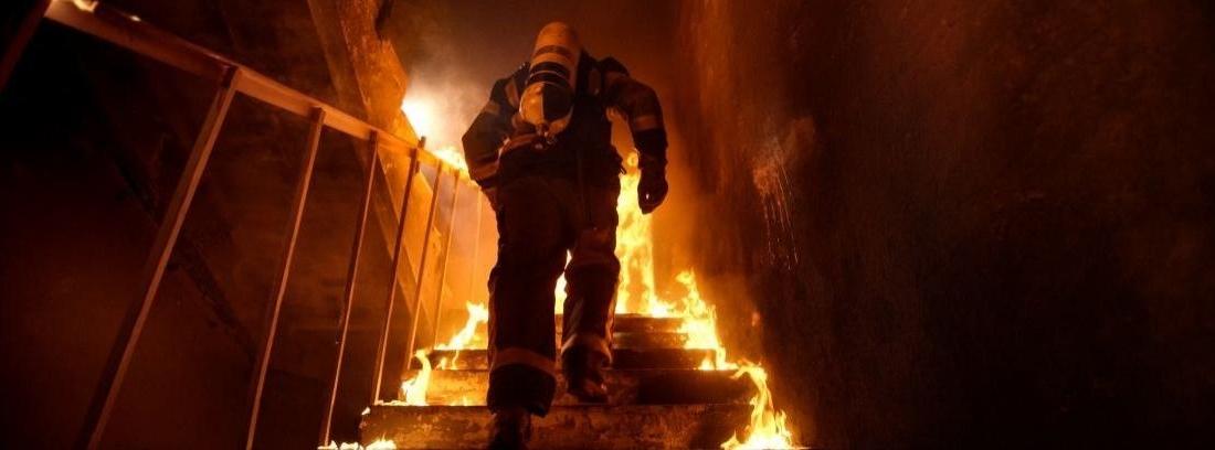 manguera de incendios