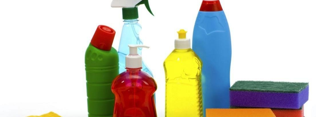 Pon orden en los productos de limpieza
