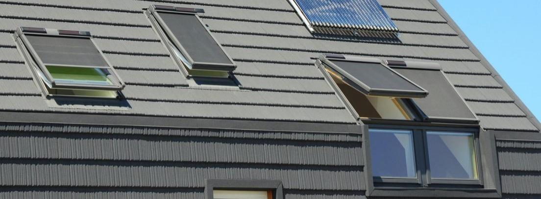 Paneles de luz que imitan ventanas
