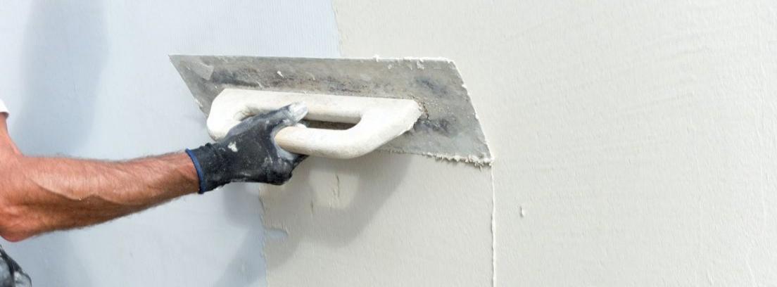 Pasos para alisar una pared