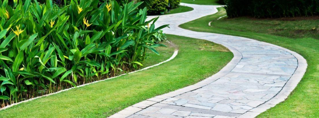Pavimento adecuado para el jardín