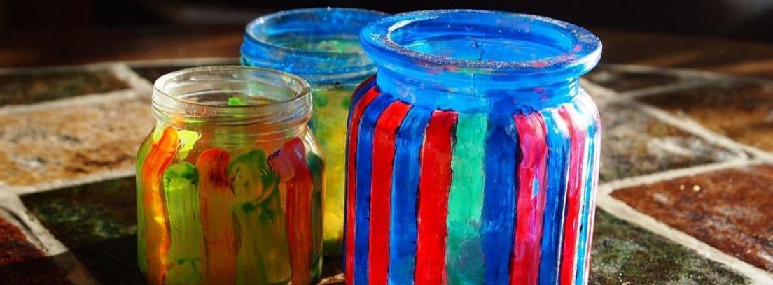 Pintar tus propios vasos