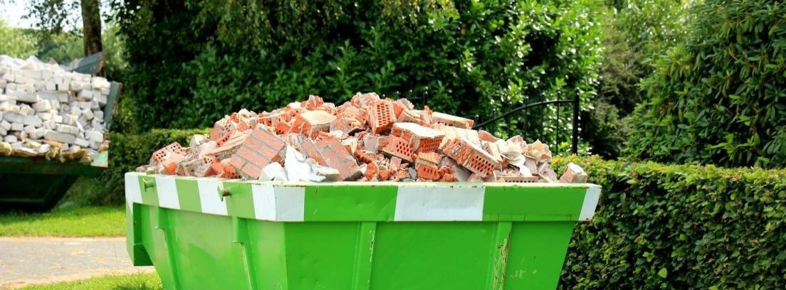 Reciclar escombros de obra