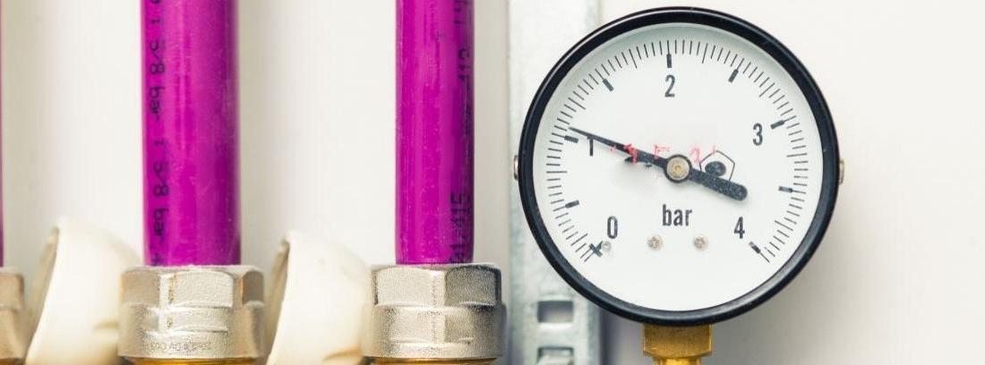 Qué hacer si baja la presión de la caldera