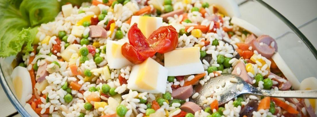Recetas de ensalada de arroz para el verano