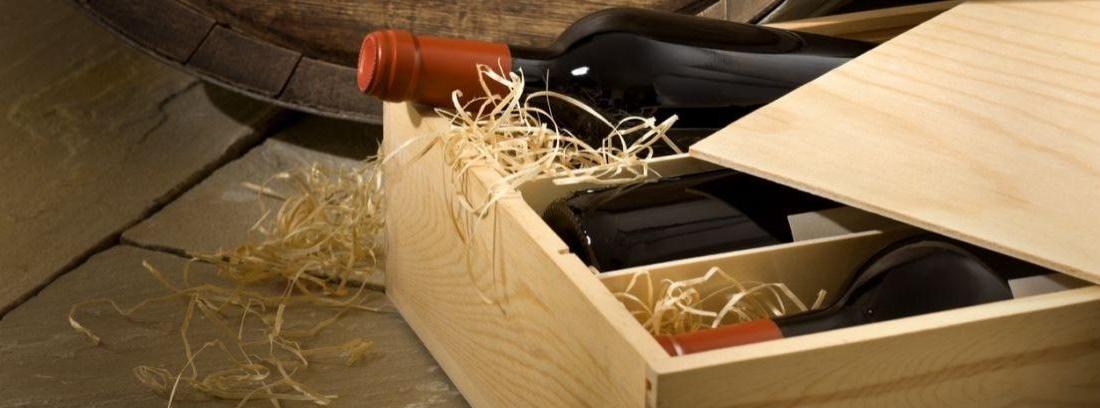 Cómo reutilizar las cajas de vino