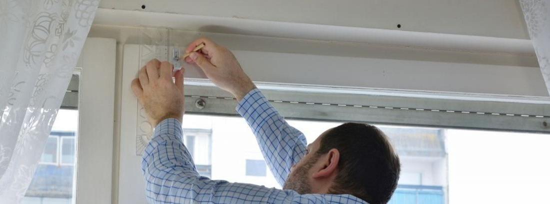 Arreglar la cinta de la persiana