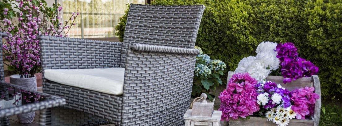 Restaurar muebles de mimbre