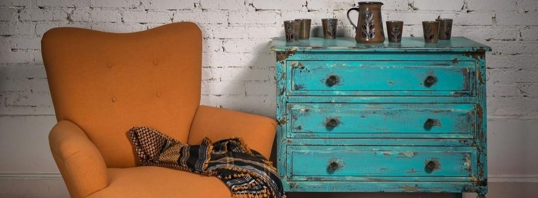 Restaurar una vieja cómoda