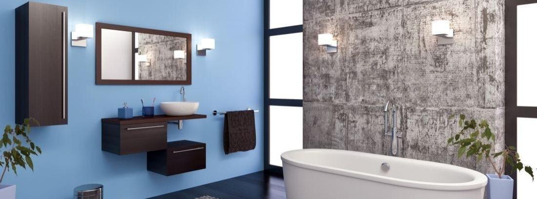 Decorar paredes del cuarto de baño