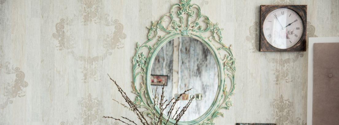 ¿Sabes cómo decorar un espejo? ahora sí
