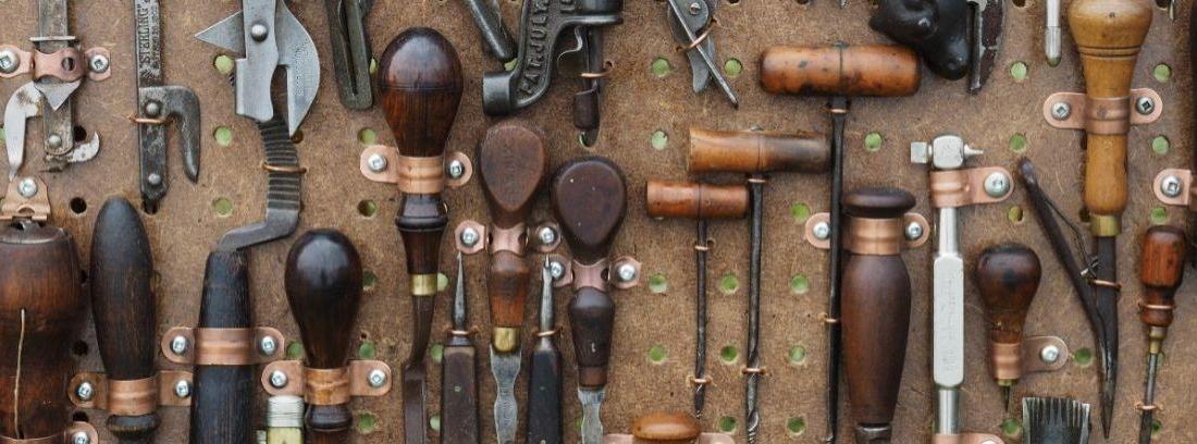 Tipos y usos del cincel