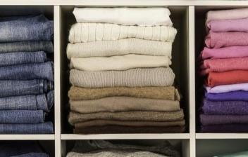 organizar la ropa