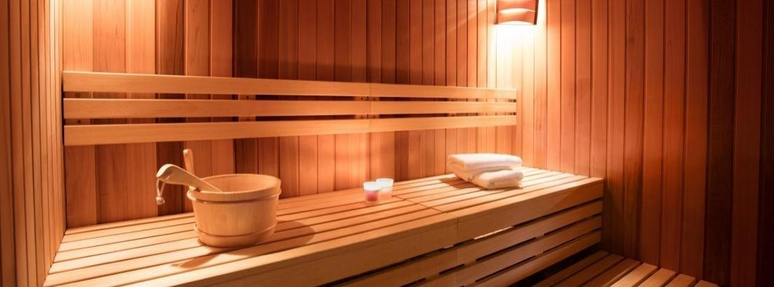 Una sauna en casa -canalHOGAR