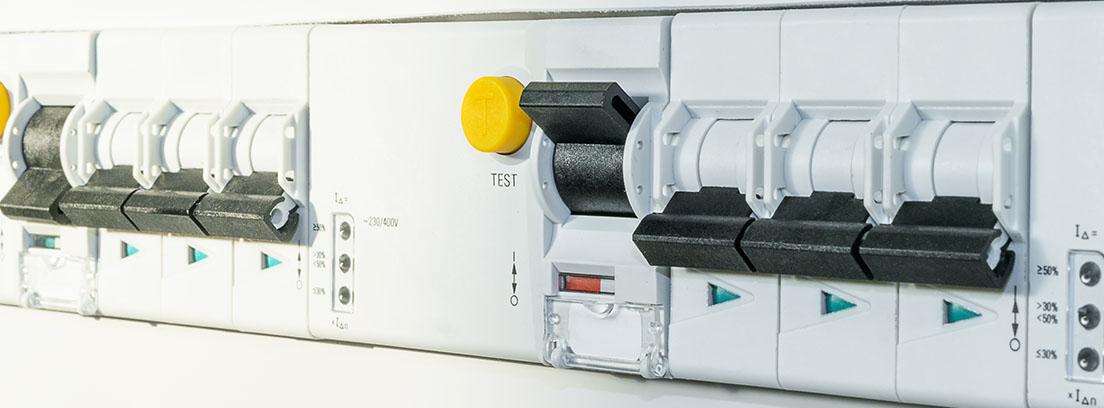 Interruptor del diferencial eléctrico