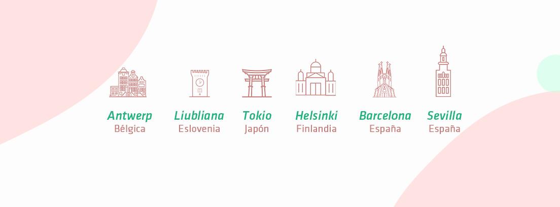 Infografía las mejores ciudades para ir en bici