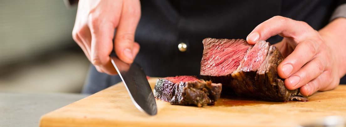 ¿Qué puntos de cocción de la carne existen?