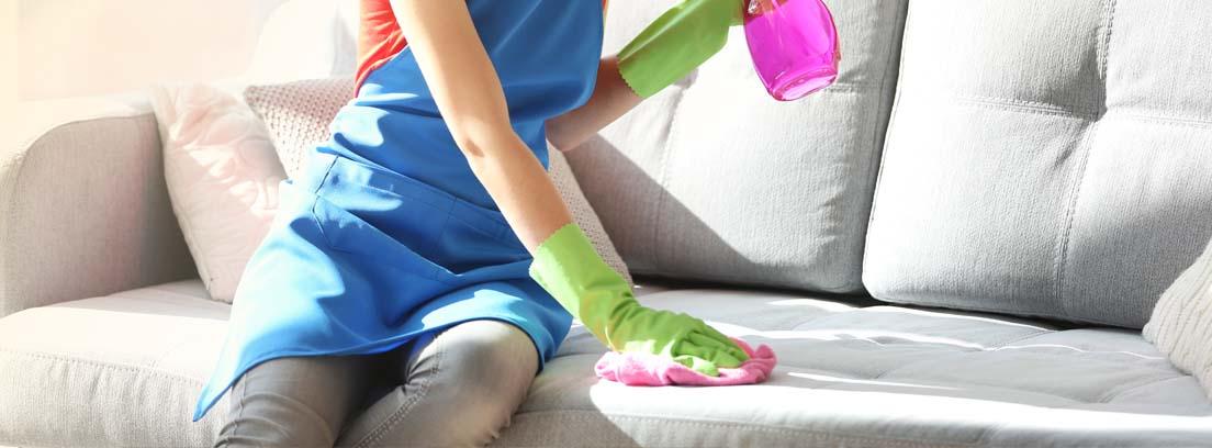Cómo limpiar un sofá a fondo