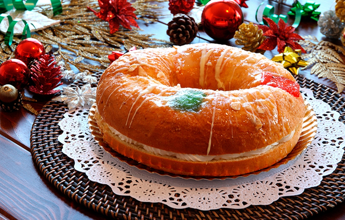 Roscón de Reyes, receta casera
