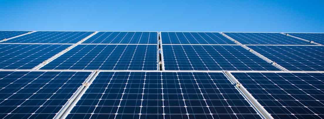 Placas solares instaladas