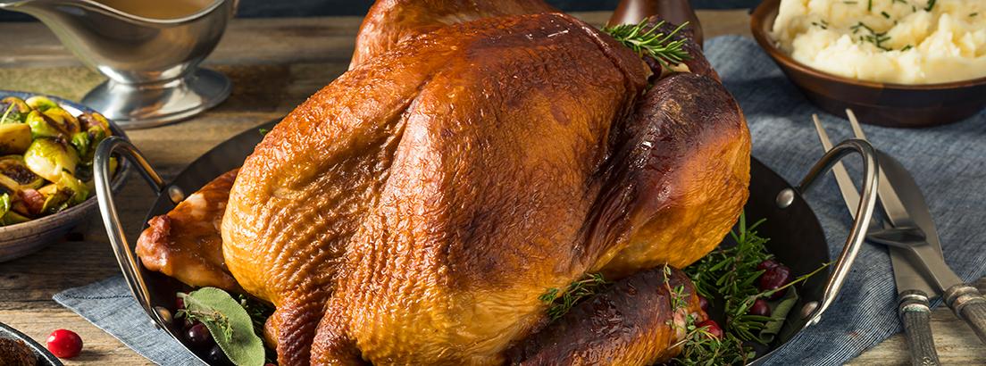 Pavo para la cena de Acción de Gracias