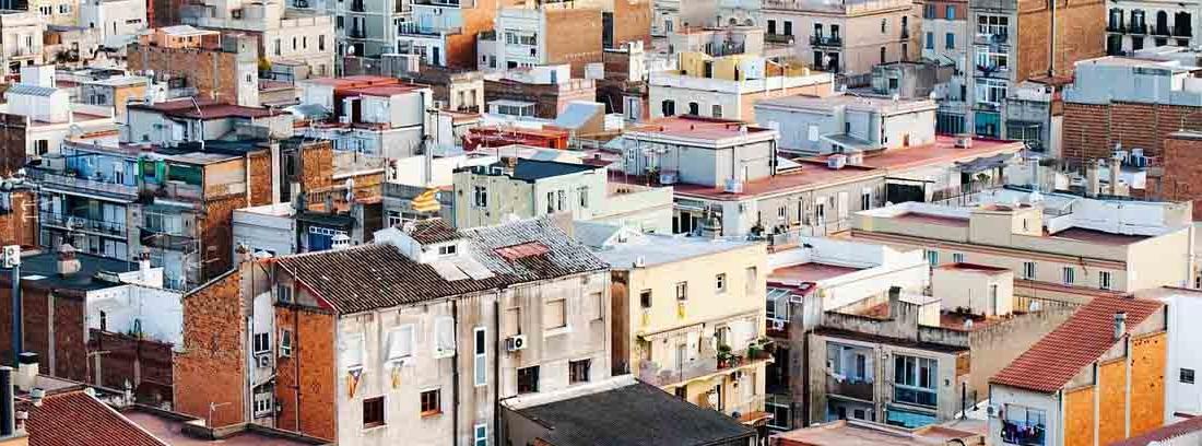 tejados de una ciudad