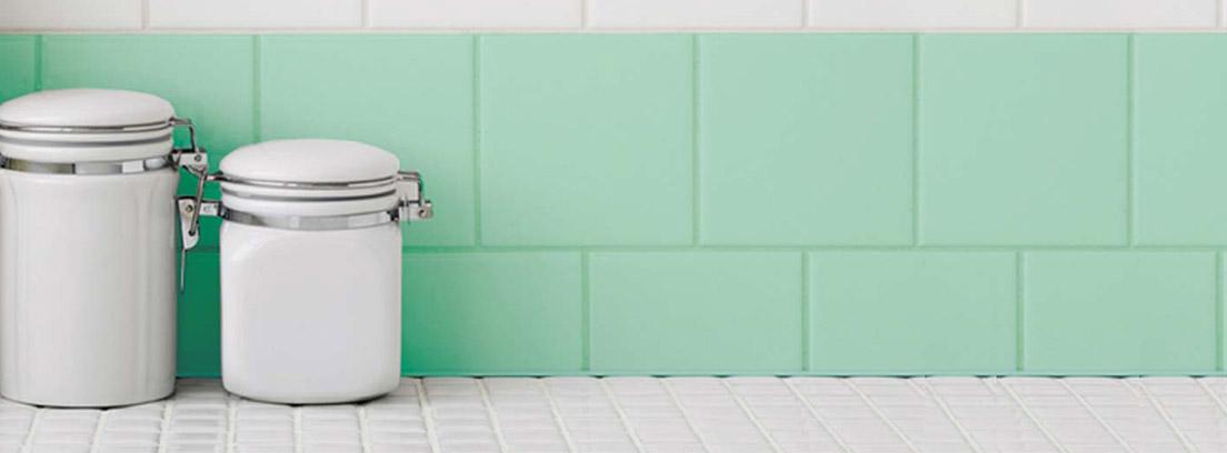 Pintar los azulejos de la cocina ideas canalhogar - Pintura para azulejos de cocina ...