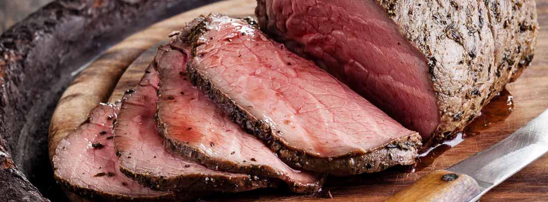 roast beef de verduras