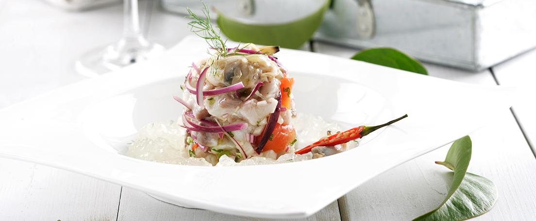 Ceviche peruano de pescado