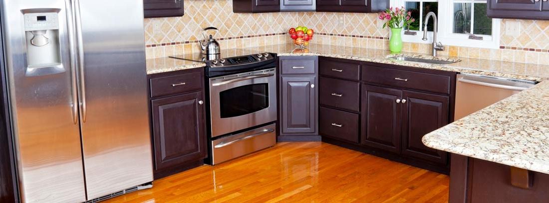 C mo elegir una encimera de cocina resistente canalhogar - Como elegir cocina ...
