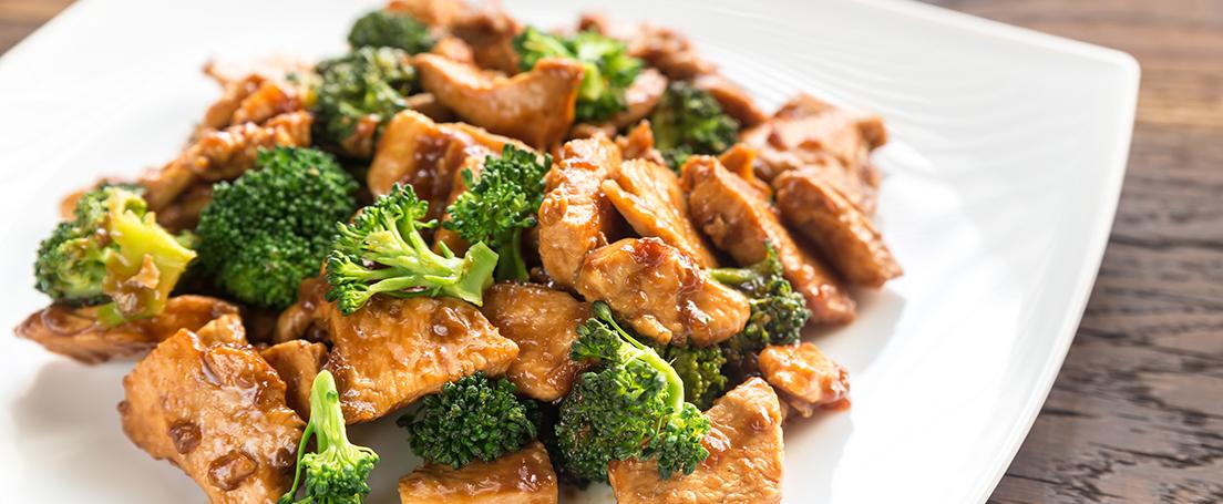 Pollo con brócoli