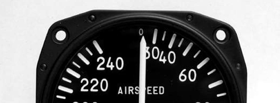 Anemómetro de avión.